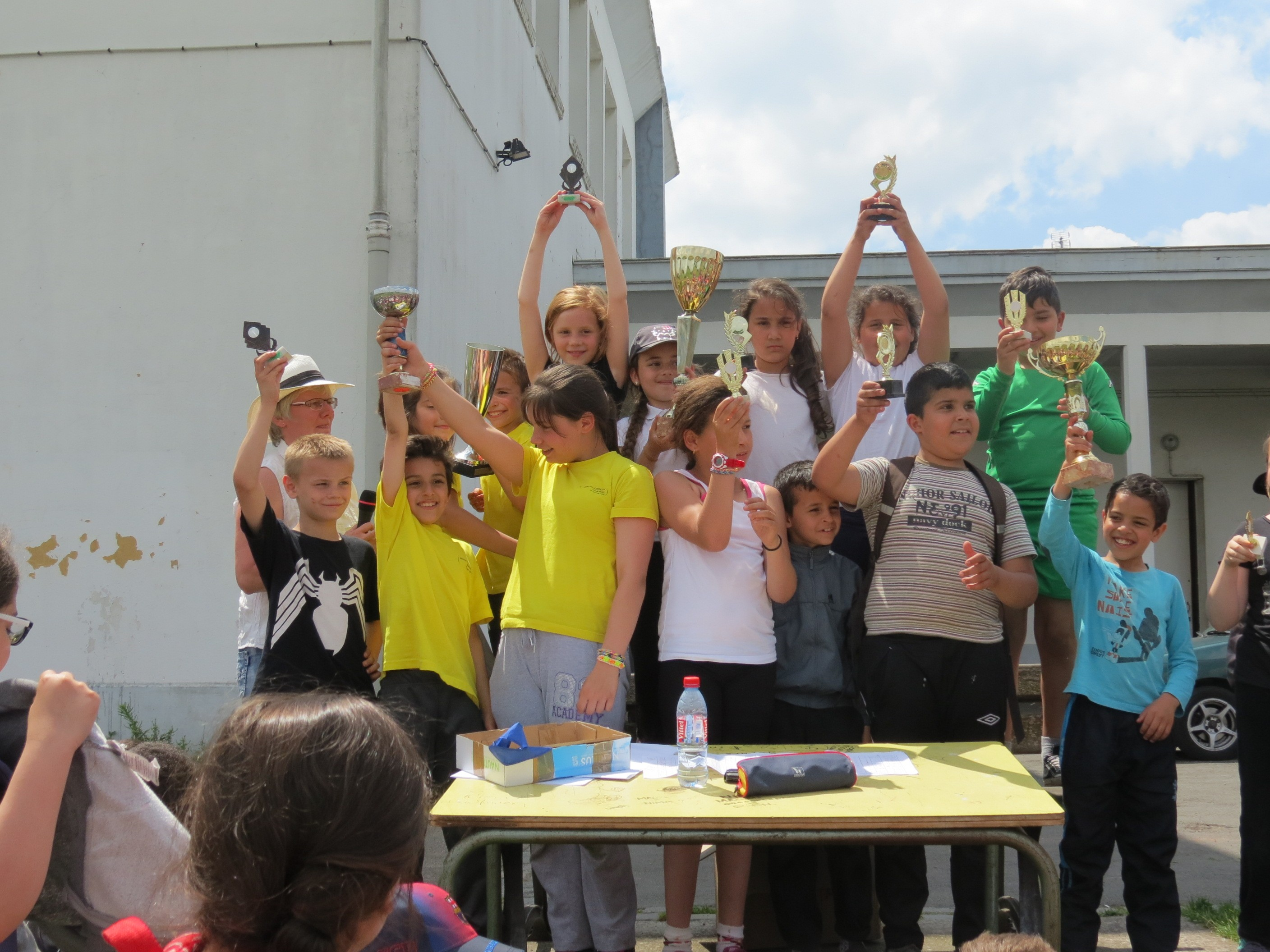 Rencontre athletisme cycle 3